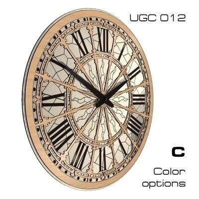 Настенные часы Классик, круглые UGC012 (d 45)