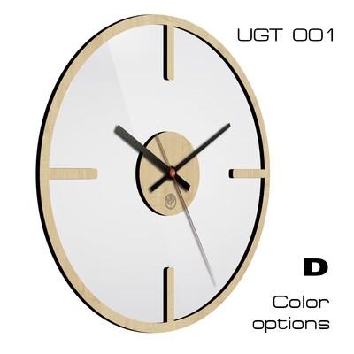 Часы настенные Лофт со стеклом (d 30)