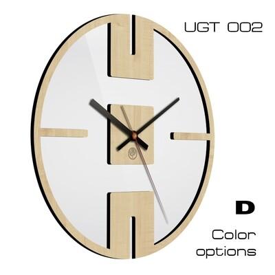 Часы настенные Лофт со стеклом UGT002(d 30)