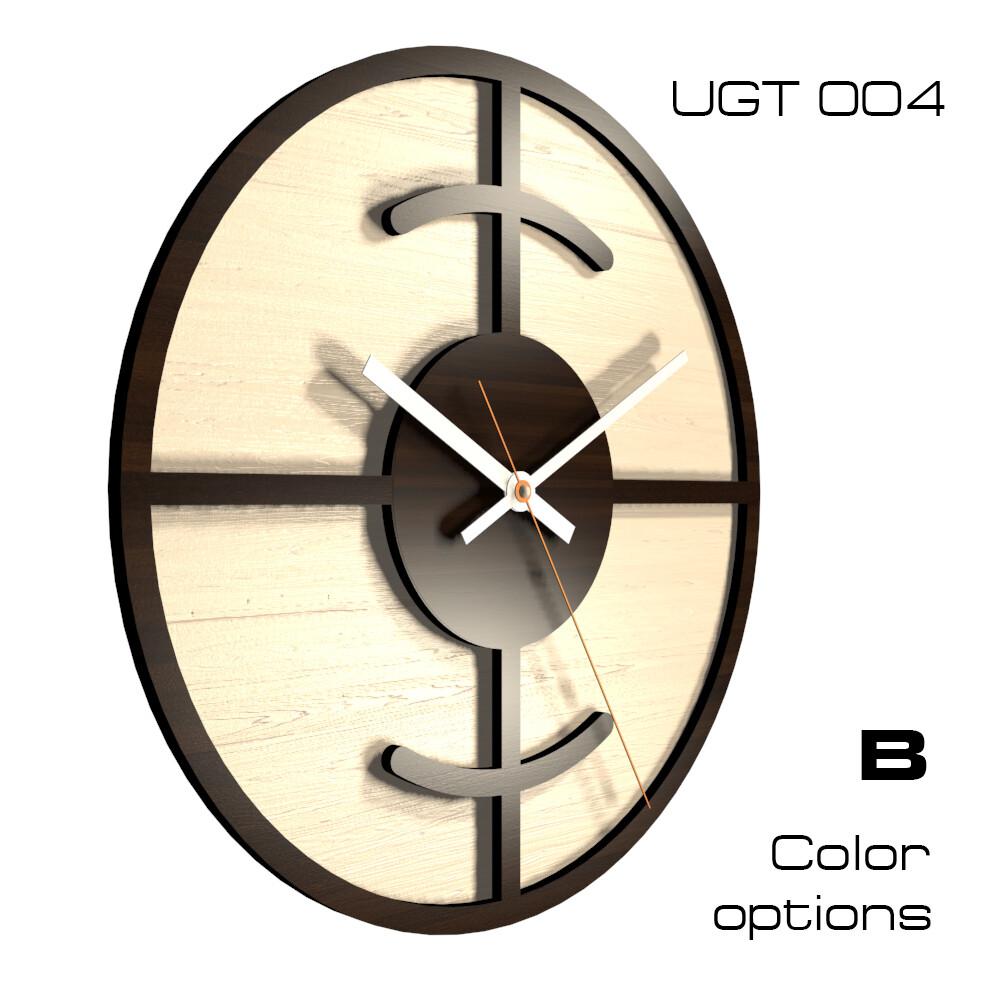 Часы настенные Лофт UGT004 (d 30)
