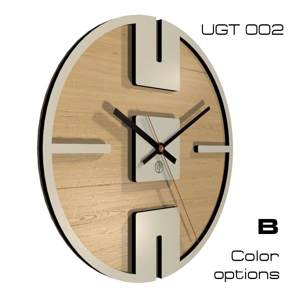 Часы настенные Лофт, круглые (d 30)