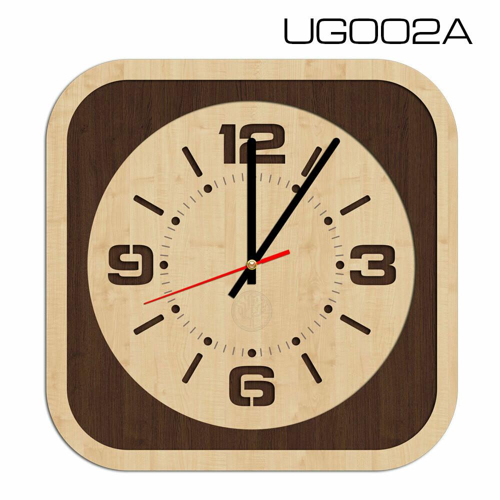 Часы настенные, квадратные (d 30)