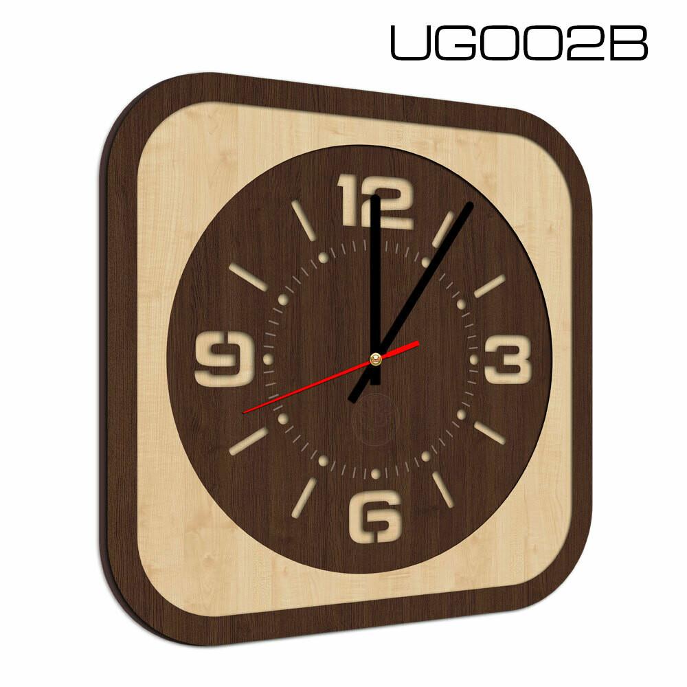 Часы настенные, квадратные, (d 20)