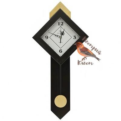 Часы настенные Модерн-квадрат маятник