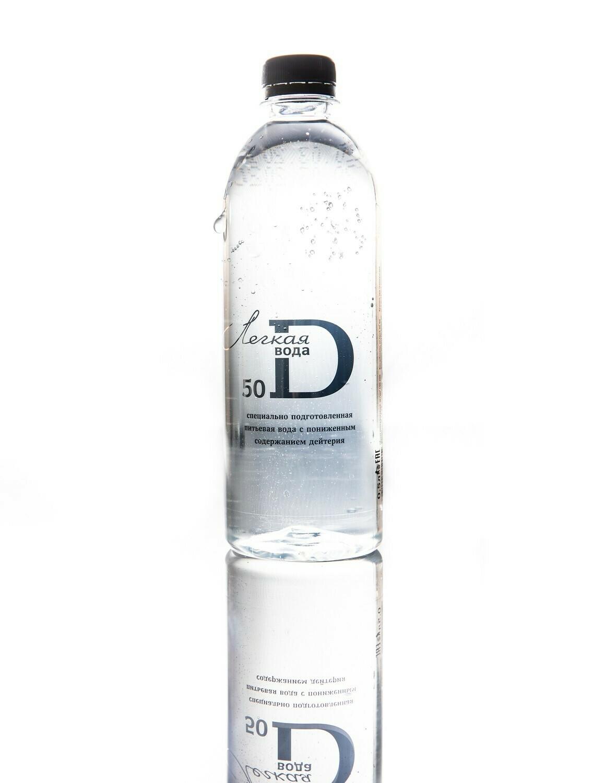Легкая питьевая вода 50 ppm (12 бут. х 0,5 л)