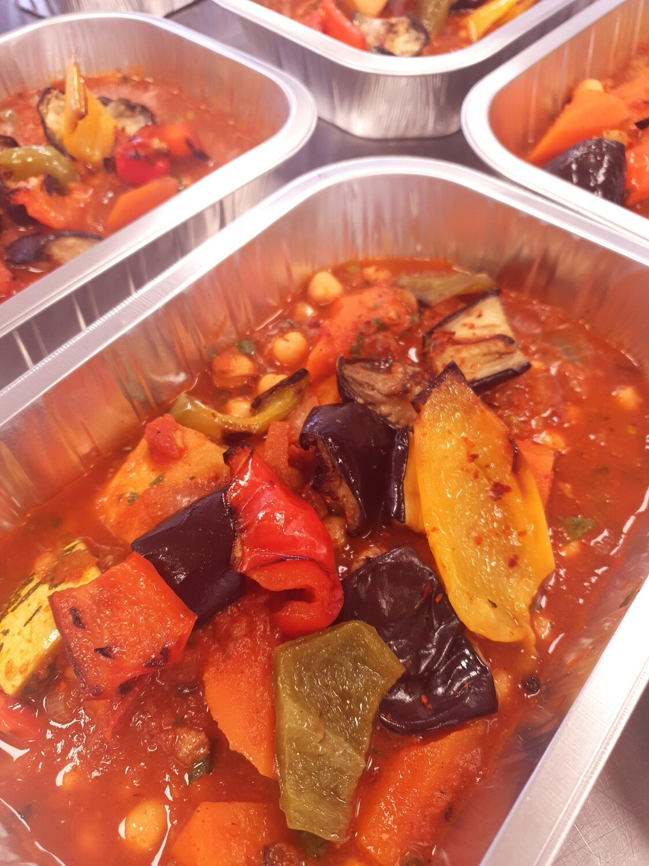Chickpea & Vegetable Tagine (Ve)