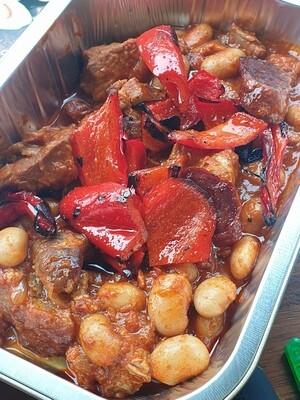 Spanish braised pork