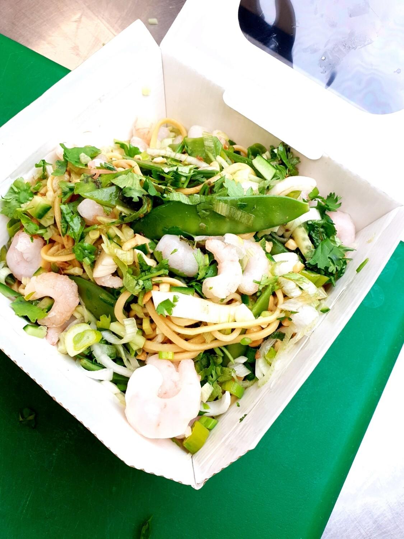 Prawn noodle salad