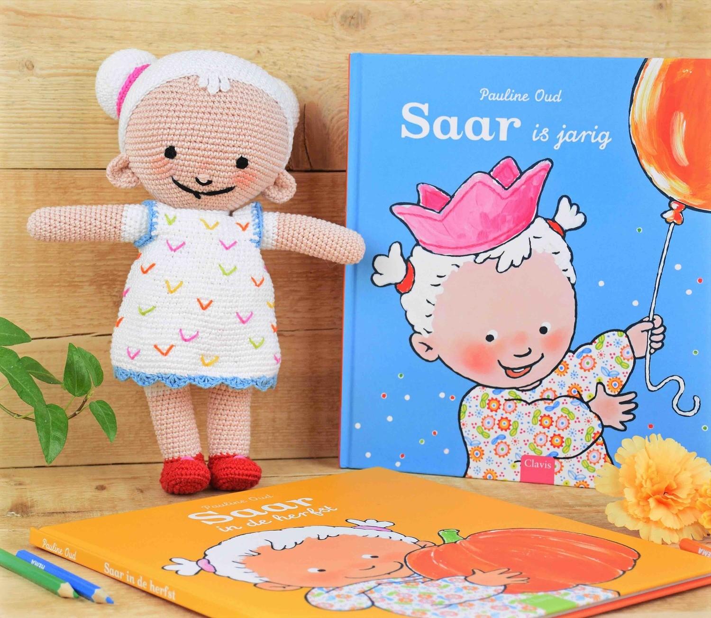 Haak-patroon popje Saar