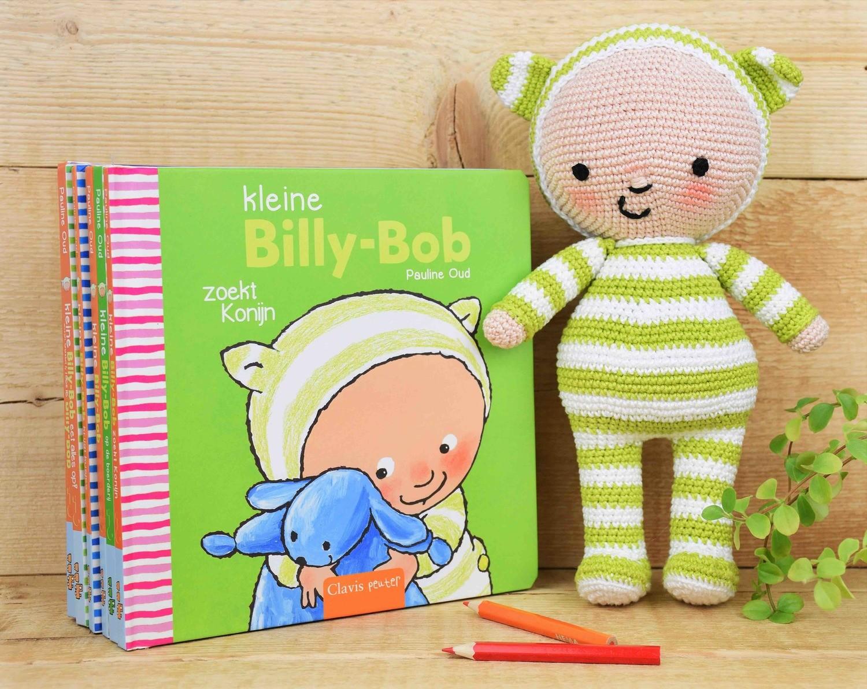 Haak-patroon popje Kleine Billy-Bob