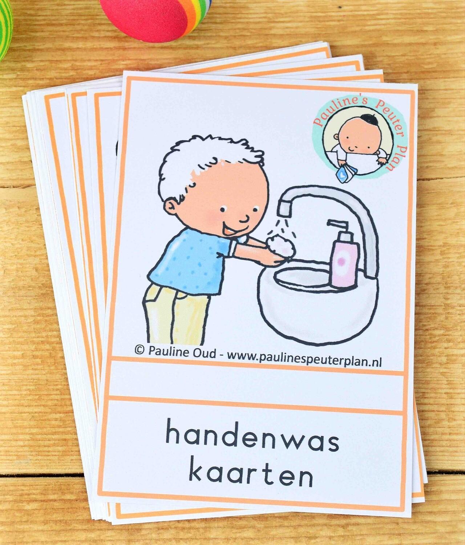 Handenwas kaarten
