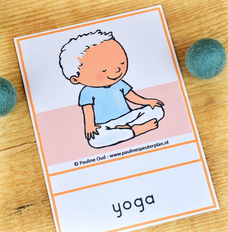 Aanvulling Dagritme-kaarten: Yoga