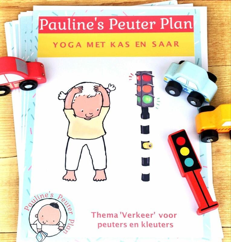 Lespakket Yoga met Kas en Saar Thema Verkeer