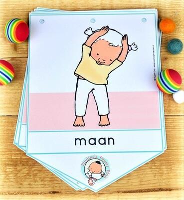 Vlaggenlijn: Yoga met Kas en Saar
