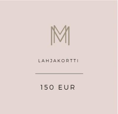 Lahjakortti 150 eur