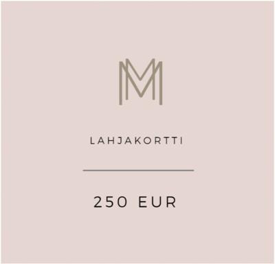 Lahjakortti 250 eur