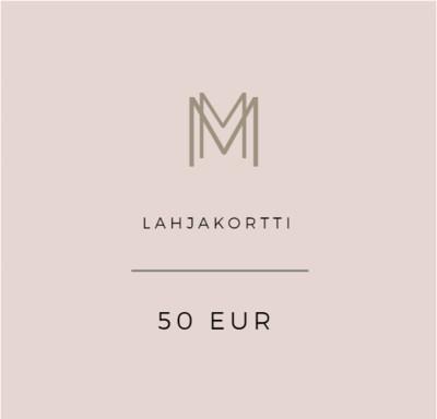 Lahjakortti 50 eur
