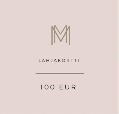Lahjakortti 100 eur