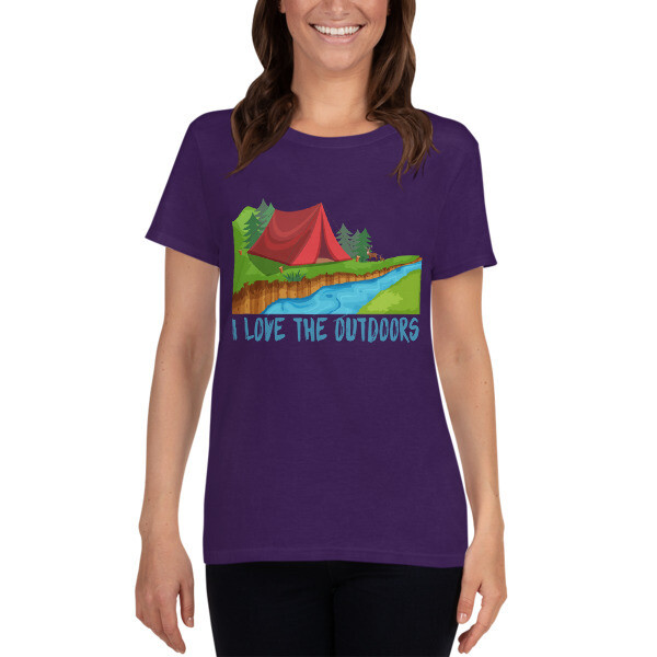 Outdoors Women's short sleeve t-shirt