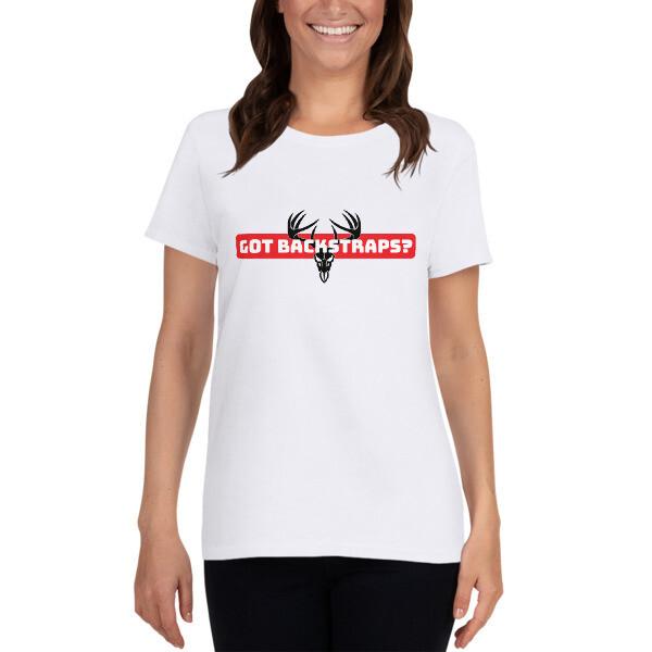 Backstraps Women's short sleeve t-shirt