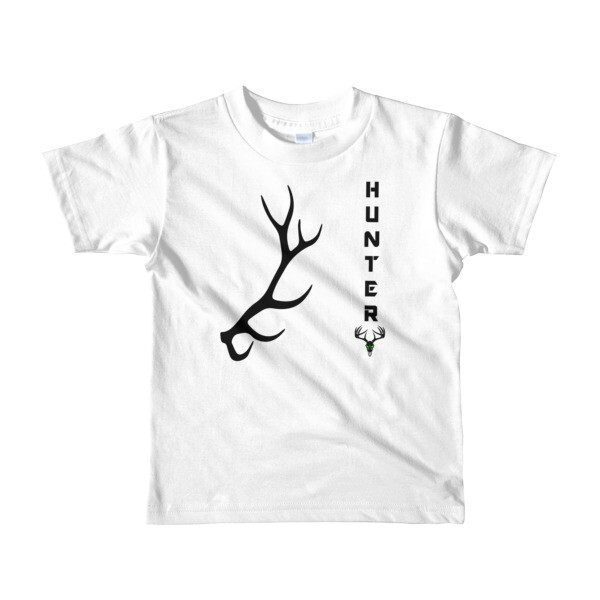 Elk Hunter Short sleeve kids t-shirt