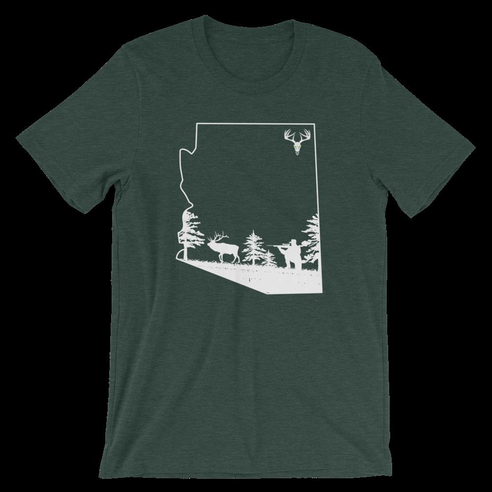 AZ Elk Short-Sleeve Unisex T-Shirt