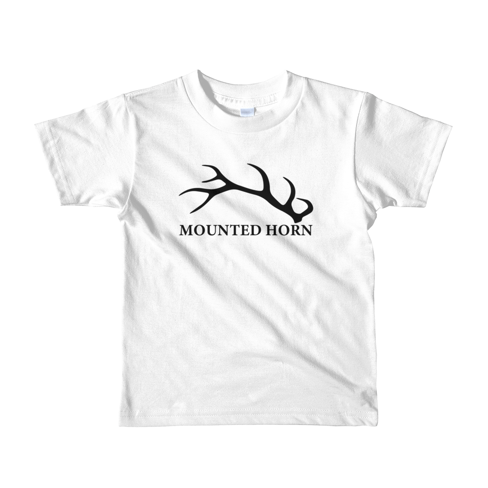 Elk Antler Short sleeve kids t-shirt