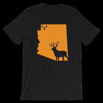 AZ State Mule Deer Short-Sleeve Unisex T-Shirt