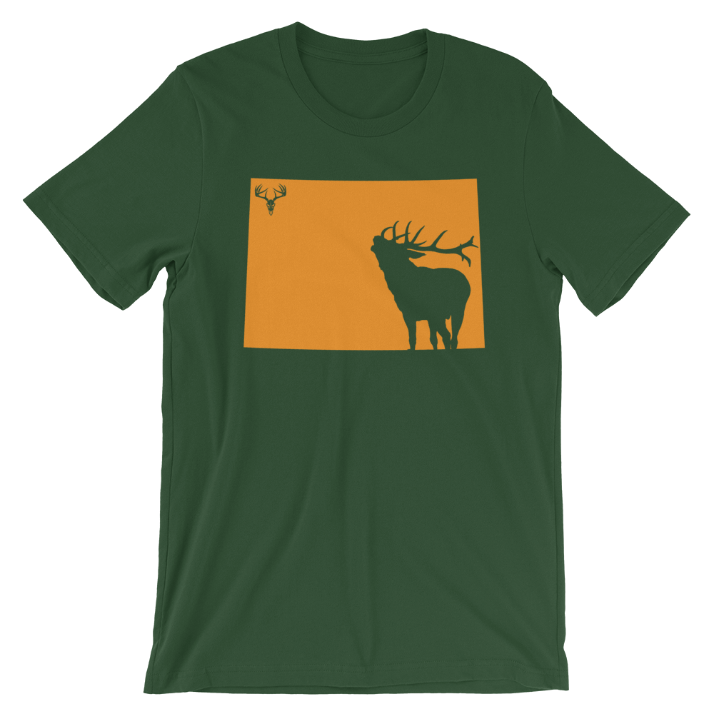 Colorado State Elk Short-Sleeve Unisex T-Shirt