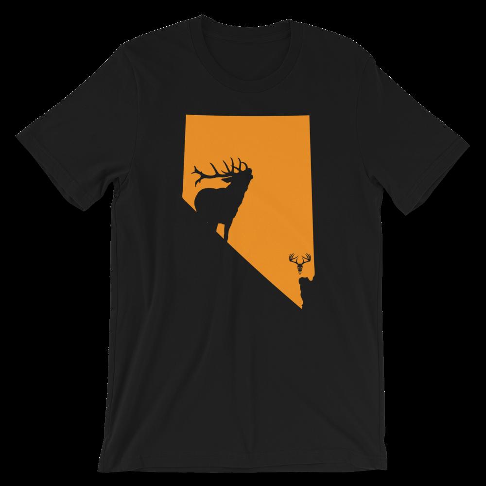 Nevada State Elk Short-Sleeve Unisex T-Shirt