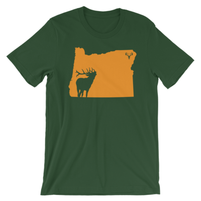 Oregon State Elk Short-Sleeve Unisex T-Shirt