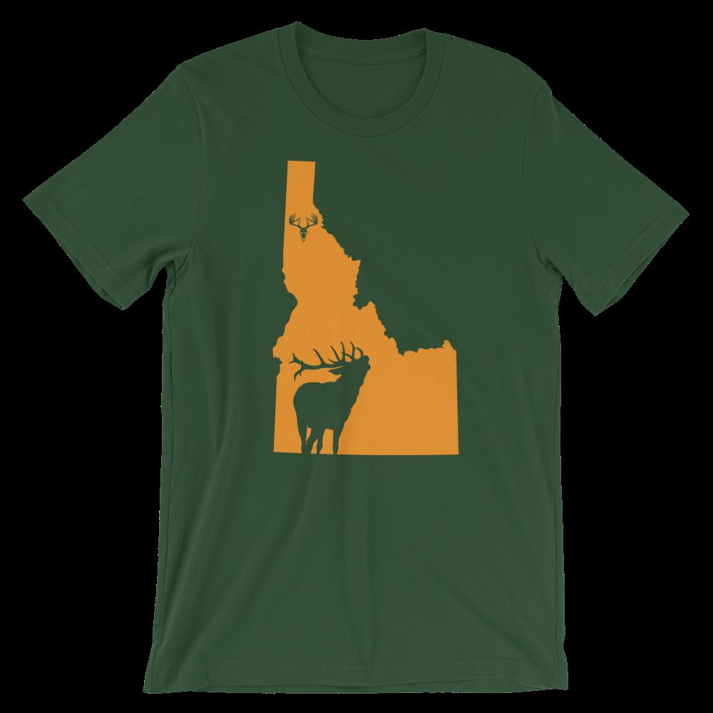 Idaho State Elk Short-Sleeve Unisex T-Shirt