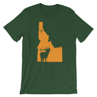 Idaho State Elk Short-Sleeve Unisex T-Shirt