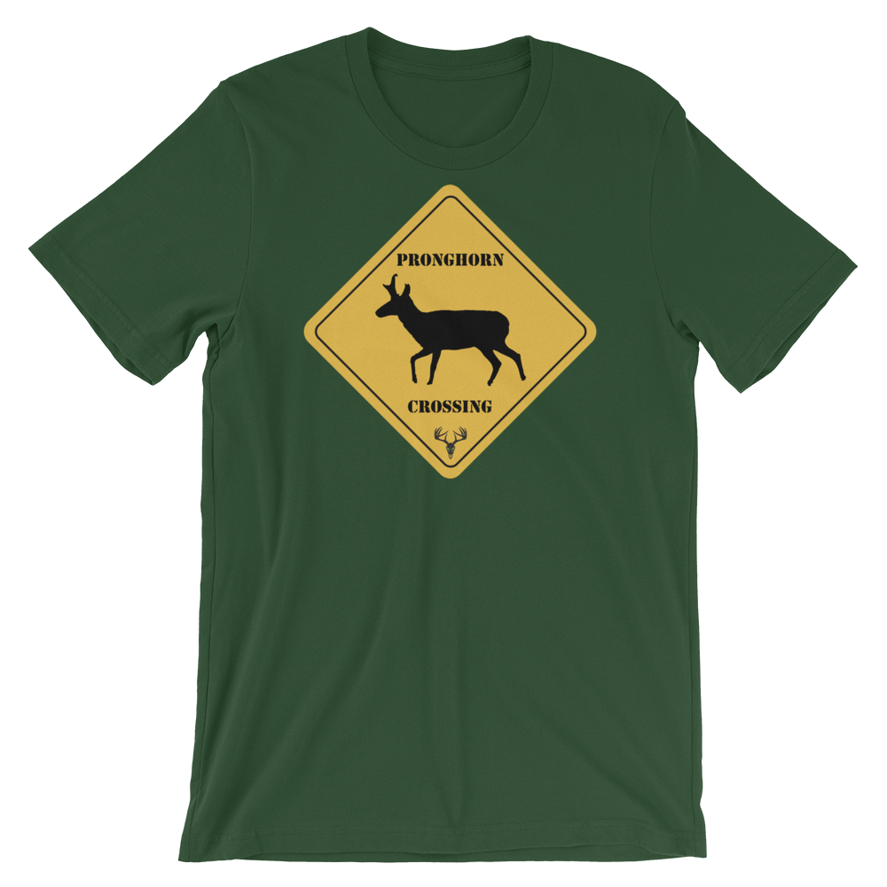 Pronghorn Crossing Short-Sleeve Unisex T-Shirt
