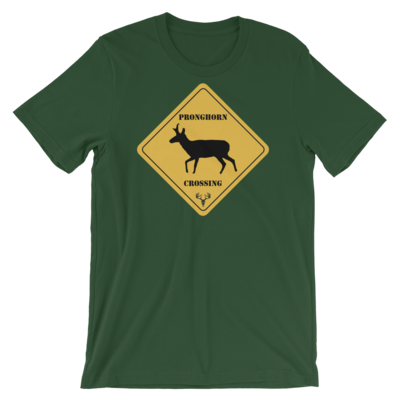 Pronghorn Crossing Short-Sleeve Unisex T-Shirt