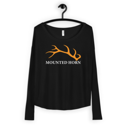 Elk Antler Ladies' Long Sleeve Tee