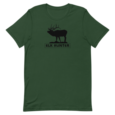 Elk Hunter Short-Sleeve Unisex T-Shirt