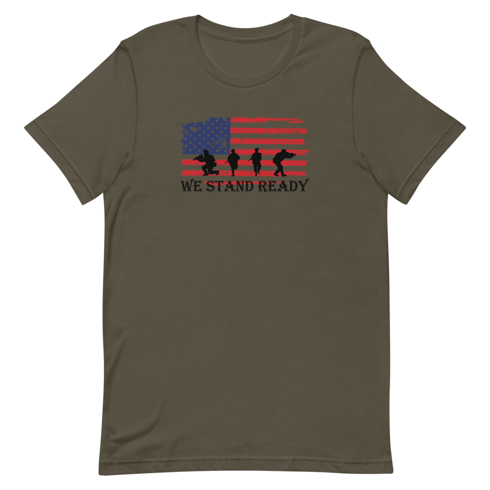 We Stand Ready Short-Sleeve Unisex T-Shirt