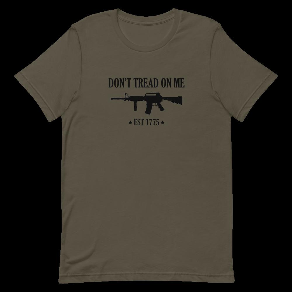 Dont Tread On Me Short-Sleeve Unisex T-Shirt
