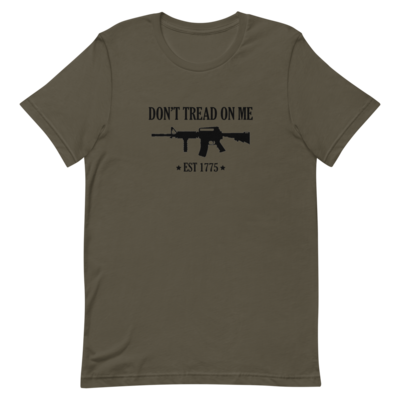 Dont Tread On Me Short-Sleeve Unisex T-Shirt