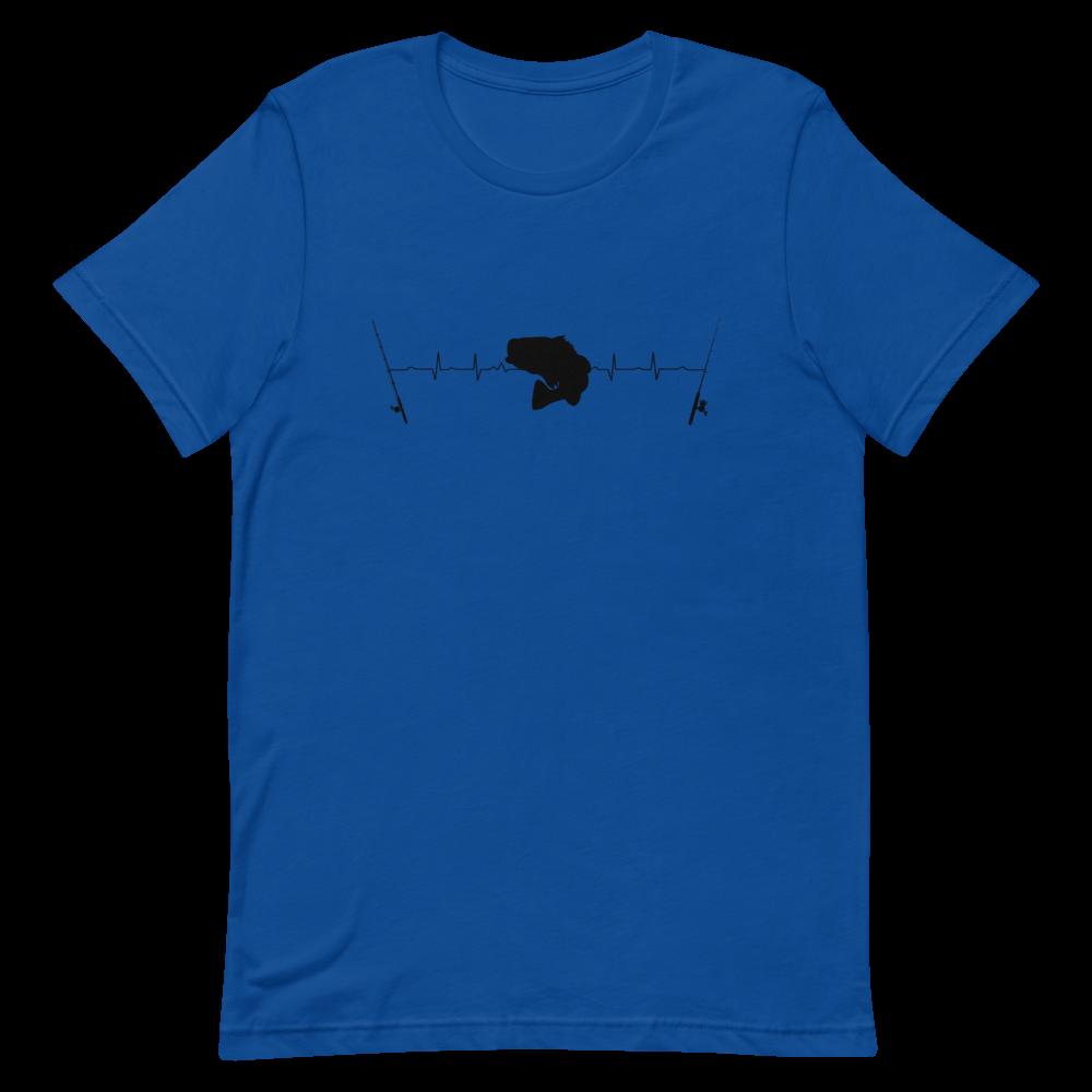Bass Heart Beat Short-Sleeve Unisex T-Shirt