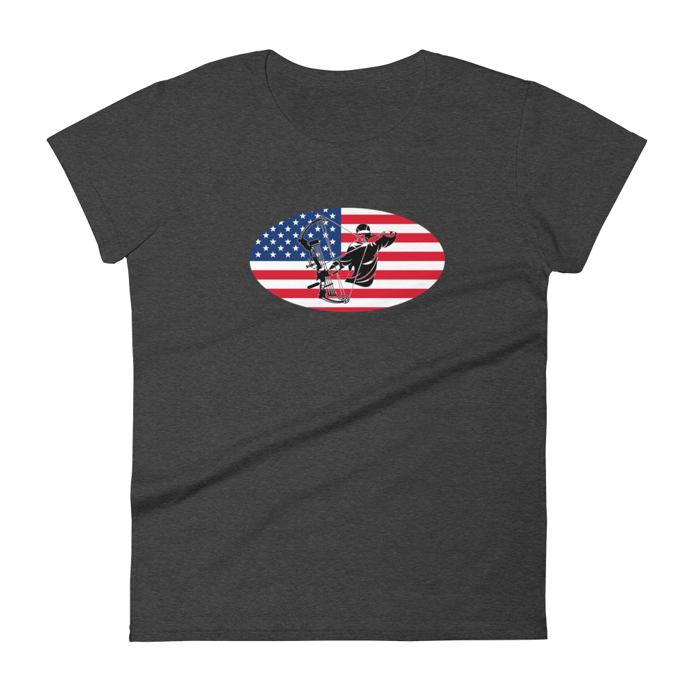 USA Archery Women's short sleeve t-shirt