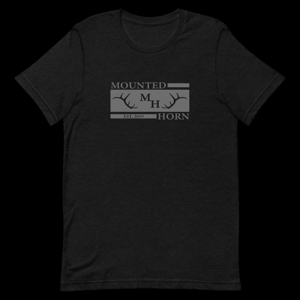 Mounted Horn Short-Sleeve Unisex T-Shirt
