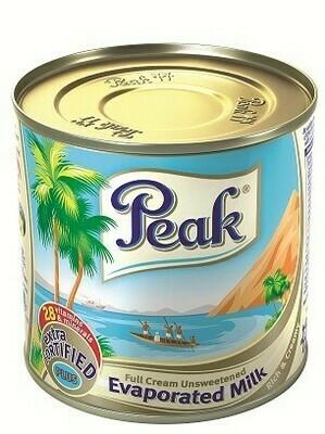 Peak Evaporated Full Cream Milk, 5.4 Fl. Oz