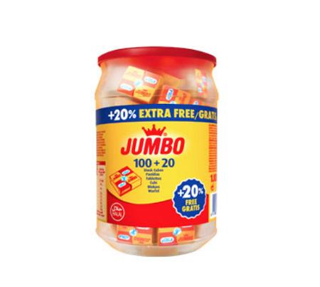 Jumbo Halal Stock Cube  100+20% Bottle