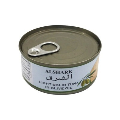 Alshark Tuna Fish in Olive Oil 6 oz