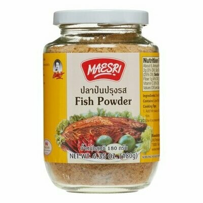 Maesri Fish Powder, 6.4 Oz