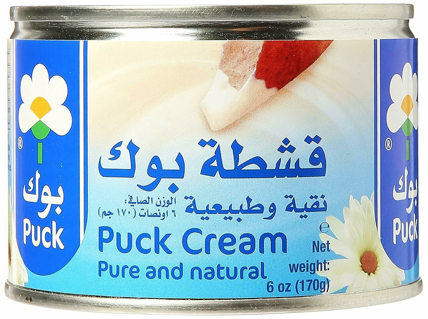 PUCK, CREAM NATURAL, 6 OZ