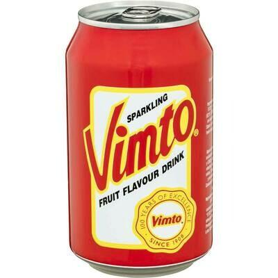 Vimto Sparkling Fruit Drink, 12 OZ