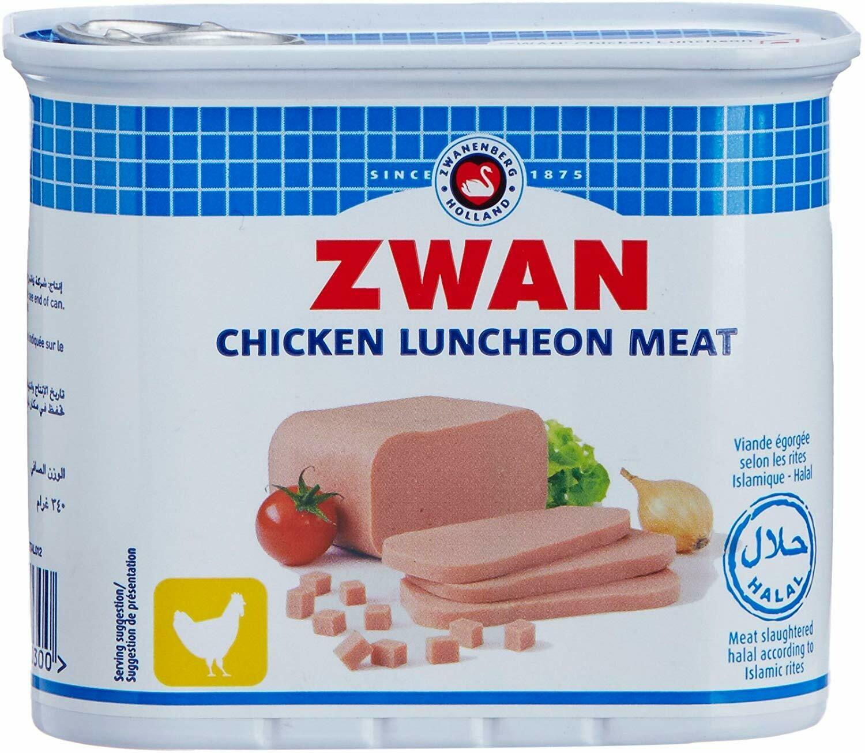 Zwan Halal Chicken Luncheon Loaf, 340g